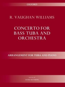Vaughan Williams: Concerto for bass tuba and orchestra - nuty na fortepian i tubę
