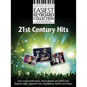 Easiest Keyboard Collection: 21st Century Hits - nuty na keyboard