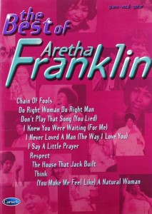 Aretha Franklin: The Best Of - na fortepian, melodia, akordy gitarowe