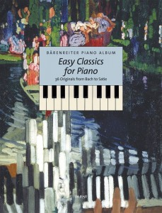 Easy Classics for Piano - 36 Originals from Bach to Satie - nuty na fortepian w łatwym układzie