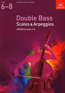 Double Bass Scales & Arpeggios, ABRSM Grades 6-8 from 2012 - gamy i pasaże na kontrabas