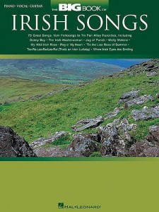 The Big Book Of Irish Songs - nuty na fortepian, melodia, akordy gitarowe i teksty
