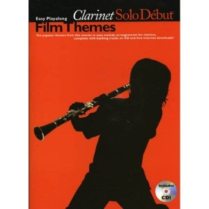 Solo Debut: Film Themes - Easy Playalong Clarinet - nuty na klarnet (audio online)