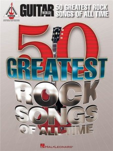 Guitar World: 50 Greatest Rock Songs of All Time - nuty i tabulatura na gitarę, słowa i akordy gitarowe