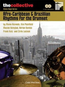 Afro-Caribbean And Brazillian Rhythms for the Drumset - Maciek Schejbal (+ 2 płyty CD) - nuty na perkusję
