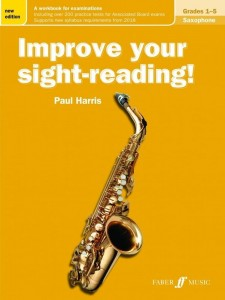 Improve Your Sight-Reading - Saxophone Grades 1-5 - Harris - nauka grania z nut na saksofon