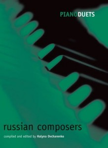 Piano Duets: Russian Composers - Aston - duety fortepianowe, nuty na 4 ręce