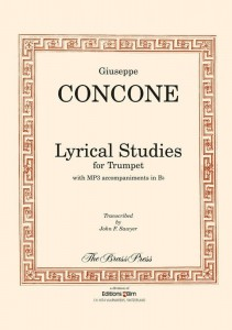 Concone: Lyrical Studies for Trumpet (+ audio online) - nuty na trąbkę