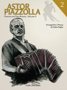 Astor Piazzolla: Tangos for Two Piano 2 - nuty na dwa fortepiany
