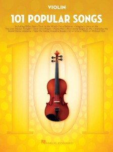 101 Popular Songs: Violin - nuty na skrzypce