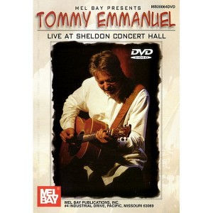 Tommy Emmanuel - Live At Sheldon Concert Hall (DVD)