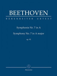 Beethoven - Symphony no. 7 in A major op. 92 - Symfonia nr 7 A-Dur - nuty na orkiestrę (partytura studyjna)