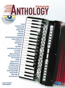 Accordion Anthology 1 - 30 All Time Favorites - nuty na akordeon (+ płyta CD)