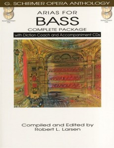 Arias For Bass - Complete Package - nuty na głos z fortepianem (+ 4 płyty CD)
