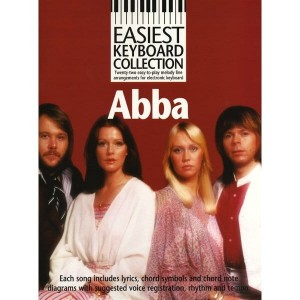 Easiest Keyboard Collection: Abba - 22 piosenki w opracowaniu na keyboard
