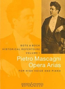 Pietro Mascagni: Opera Arias for High Voice and Piano - nuty na głos wysoki z fortepianem