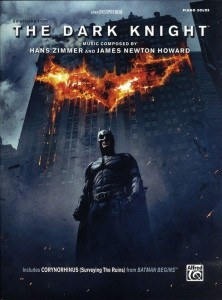 Hans Zimmer, James Newton Howard: The Dark Knight - muzyka z filmu Mroczny Rycerz na fortepian solo