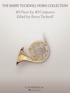 The Barry Tuckwell Horn Collection: 10 Pieces by 10 Composers - nuty na róg (waltornię) z fortepianem