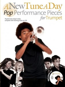 A New Tune A Day: Pop Performance Pieces for Trumpet - nuty na trąbkę (+ płyta CD)