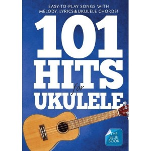101 Hits For Ukulele (Blue Book) - nuty na ukulele