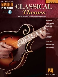 Mandolin Play-Along Volume 11: Classical Themes - nuty i tabulatura na mandolinę (+ audio online)