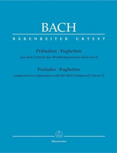 Bach J.S. - Preludes and Fughettas composed in conjunction with the Well-Tempered Clavier II - Preludia i fughetty na fortepian