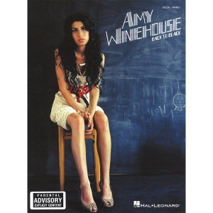 Amy Winehouse: Back to Black - nuty na fortepian, melodia i akordy gitarowe