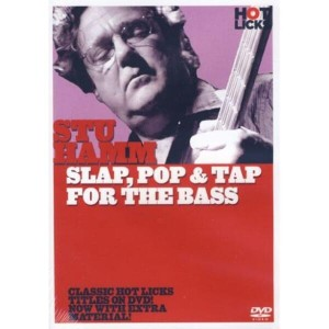 Hot Licks: Stu Hamm - Slap, Pop & Tap for The Bass - szkoła gry na gitarze baowej (DVD)