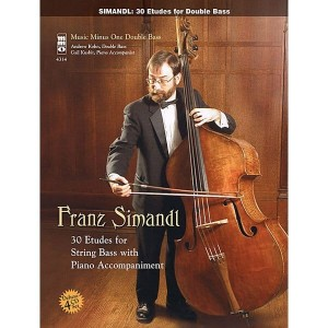 Simandl - 30 Etudes For Double Bass (+ 4 płyty CD) - nuty na kontrabas