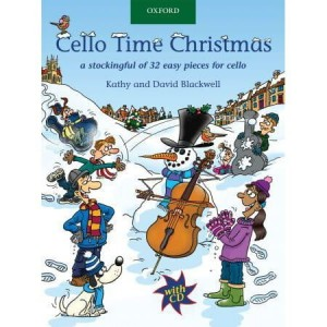 Cello Time Christmas - kolędy na wiolonczelę (+ płyta CD)