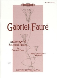 Faure - Anthology of Selected Pieces for Flute and Piano - nuty na flet i fortepian