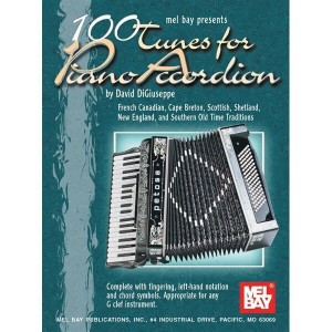 100 Tunes for Piano Accordion - nuty na akordeon - DiGiuseppe