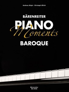 Barenreiter Piano Moments: Baroque - antologia nut na fortepian