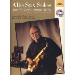 Alto Sax Solos For The Performing Artist - Garson - nuty na saksofon (+ płyta CD)