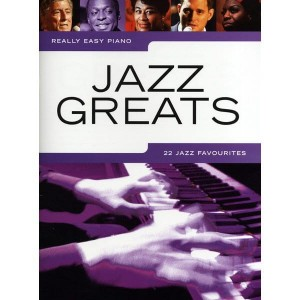 Really Easy Piano: Jazz Greats - nuty na fortepian