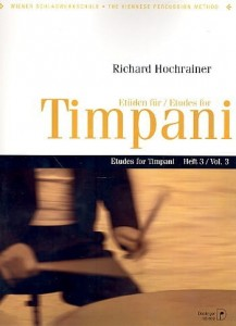 Richard Hochrainer: Etudes for Timpani 3 - nuty na kotły