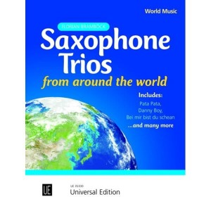 Saxophone Trios from Around the World - Brambock - nuty na tria saksofonowe