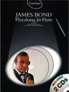 Guest Spot: James Bond Playalong For Flute (+ płyta CD) - nuty na flet poprzeczny