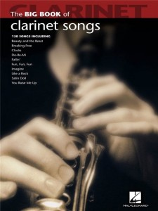 The Big Book Of Clarinet Songs - nuty na klarnet solo
