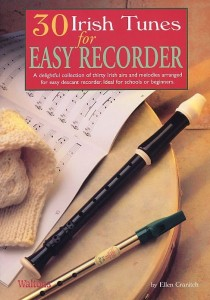 30 Irish Tunes For Easy Recorder - nuty na flet prosty - Ellen Cranitch