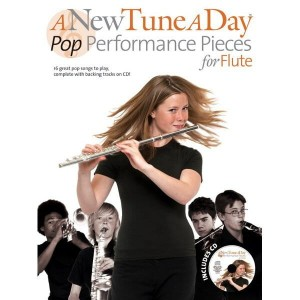 A New Tune A Day: Pop Performance Pieces for Flute - nuty na flet poprzeczny (+ płyta CD)