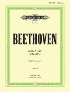 Beethoven: Sonatas for Violin and Piano 1 opp. 12, 23, 24 - sonaty na skrzypce i fortepian