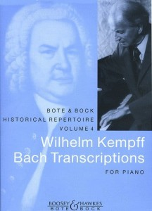 Bach J.S. - Wilhelm Kempff: Bach Transcriptions for Piano - nuty na fortepian solo