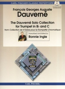The Dauverne Solo Collection For Trumpet (+ płyta CD) - nuty na trąbkę z fortepianem