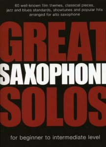 Great Saxophone Solos for beginner to intermediate - nuty na saksofon altowy