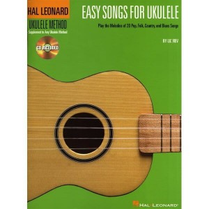 Easy Songs For Ukulele - nuty na ukulele (+ płyta CD)