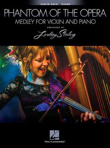 Lindsey Stirling: The Phantom Of The Opera Medley for Violin and Piano - nuty na skrzypce i fortepian