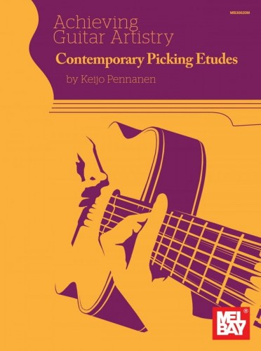 Achieving Guitar Artistry: Keijo Pennanen - Contemporary Picking Etudes - nuty na gitarę (+ audio online)