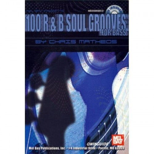 Qwikguide - 100 R&B Soul Grooves for Bass (+ płyta CD) - Matheos