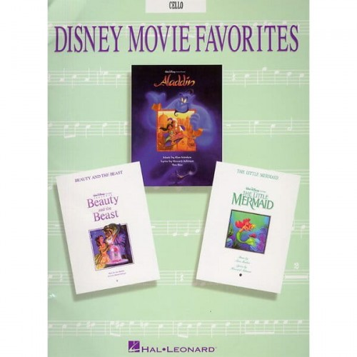 Disney Movie Favorites: Cello - nuty na wiolonczelę